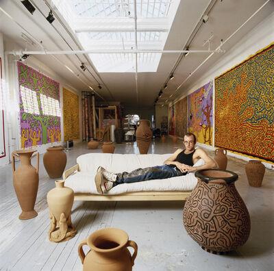 Tseng Kwong Chi, 'Keith Haring (New York)', 1988