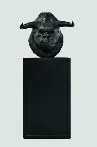 Mauro Corda, 'Tête gorille - taureau', 2015