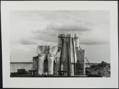 Sibylle Bergemann, 'Das Denkmal, Gummlin, Usedom, Mai 1984', 1988