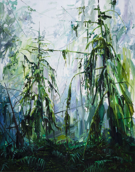 Claire Sherman, 'Trees and Ferns', 2017