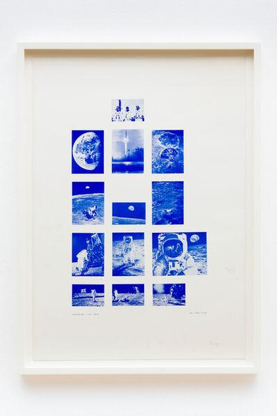 Stano Filko, 'Association XXXI. - 1st Flight - Moon', 1969