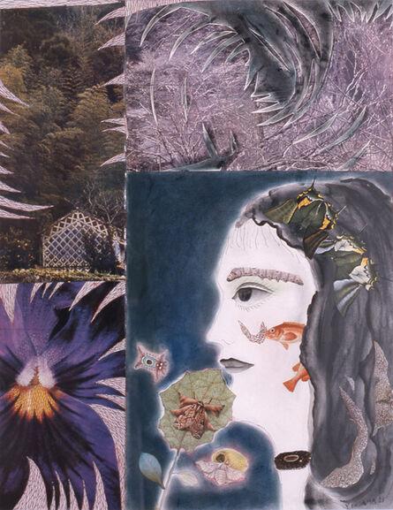 Yayoi Kusama, 'Flowers and Self-Portrait', 1973