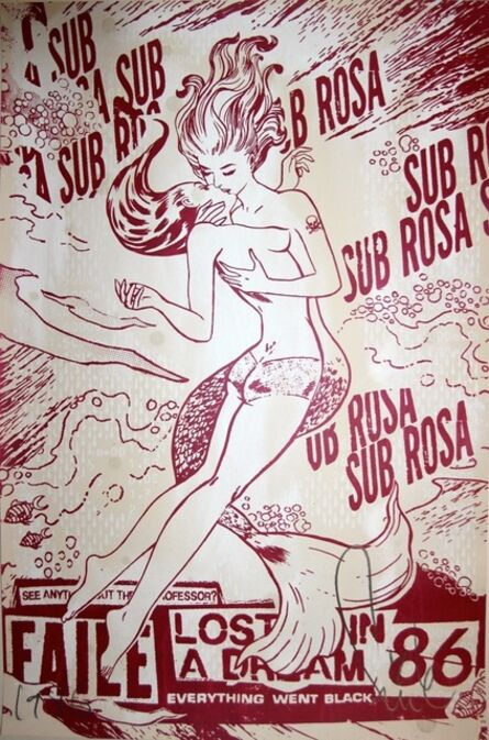 FAILE, 'Sub Rosa - Shimmering Red', 2012