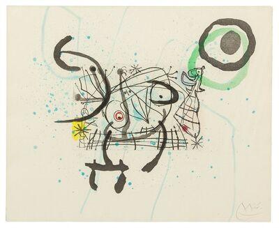 Joan Miró, 'FISSURES PLATE IX', 1969