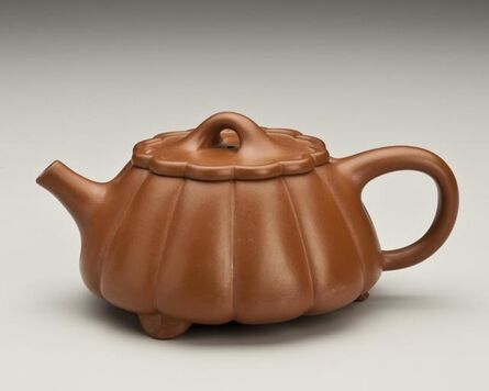 'Lobed, Conical Teapot with Floral Design', 1993