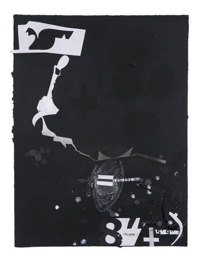 Suzanne McClelland, 'In the Black #2', 2015