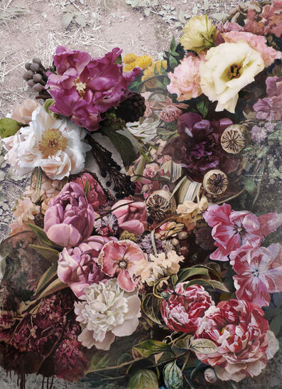 Bae Joon Sung, 'The Costume of Painter - Flowers 1 3D', 2015