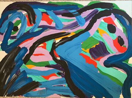 Karel Appel, 'Floating in a Landscape', 1979-1980