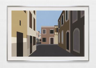 Julian Opie, 'French Village 1.', 2021