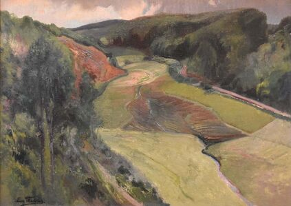 Léon Frédéric, 'Valley of Nafraiture ', ca. 1920