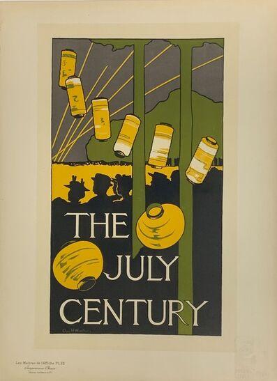 Charles Herbert Woodbury, 'Poster for The Century Magazine', July 1896
