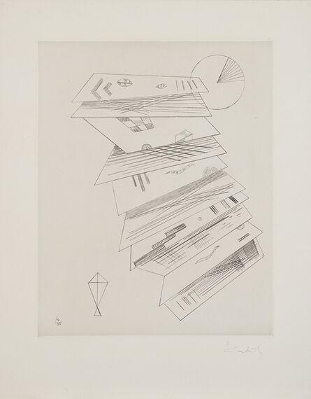 Wassily Kandinsky, 'Zweite Radierung für die Editions Cahiers d'Art', 1932
