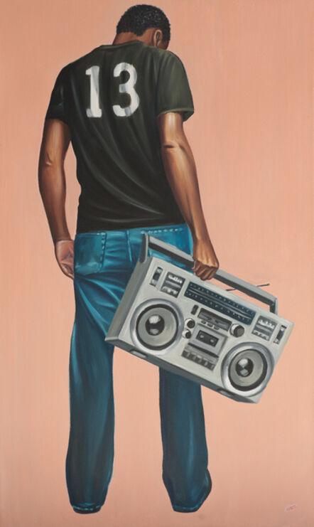 Zemba Luzamba, 'Boom Box Nostalgia ', 2017