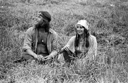 Baron Wolman, 'Woodstock 1969 Relaxing Couple ', 1969