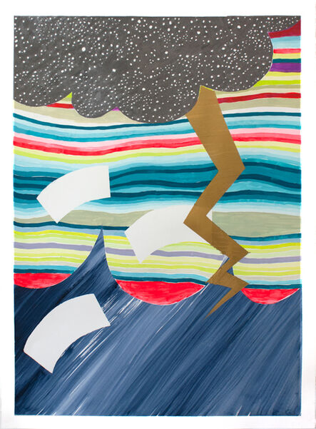 Jennifer Shepard, 'Sea Storm', 2017