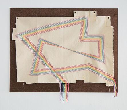 Pierre le Riche, 'Acrylic thread on canvas', 2020