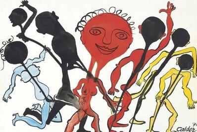 Alexander Calder, 'Danse Rituelle', 1971