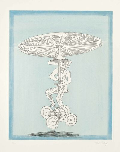 Man Ray, 'Manocopter', 1972