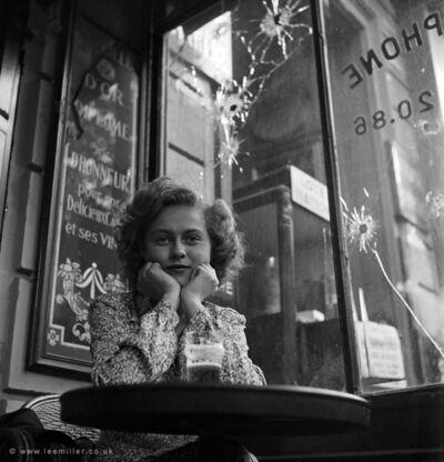 Lee Miller, 'Mademoiselle Christiane Poignet law student, Paris France', 1944