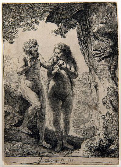 Rembrandt van Rijn, 'Adam and Eve', 1638