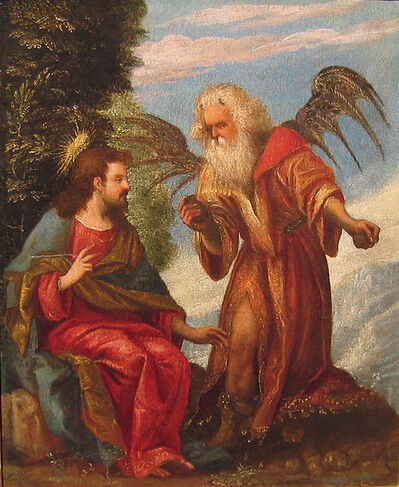 Dosso Dossi, 'The Temptation of Christ', 16th century