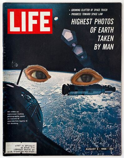Dennis Koch, 'LIFE Cutout No. 014 (August 5, 1966, Space Child's Eyes)', 2018