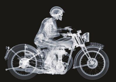 Nick Veasey, 'Matchless Rider', 2013