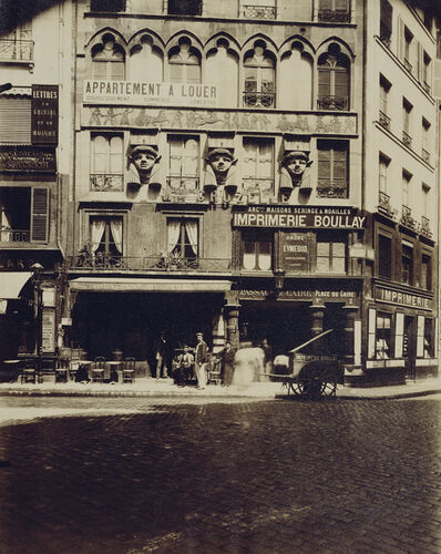 Eugène Atget, 'Maison Place du Caire 2 (Building, Place du Caire)', 1903