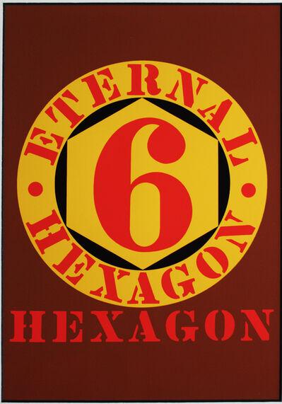 Robert Indiana, 'Eternal Hexagon for Art Basel', 1987