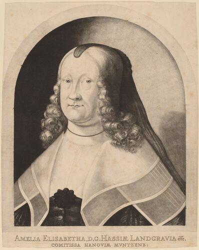 Ludwig von Siegen, 'Amelia Elizabeth, Countess of Hesse', 1642