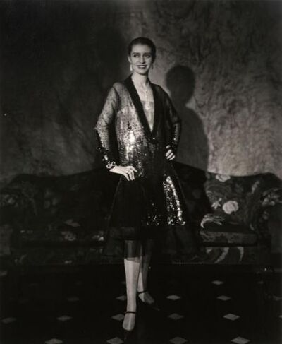 Edward Steichen, 'The Photographer's Favourite Model, Marion Morehouse in a Cheruit Gown, Vogue,', 1927