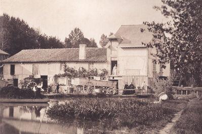 """Gustave Le Gray, '""""Le Moulin de Nantivet"""", Chalons-sur-Marne', 1857"""