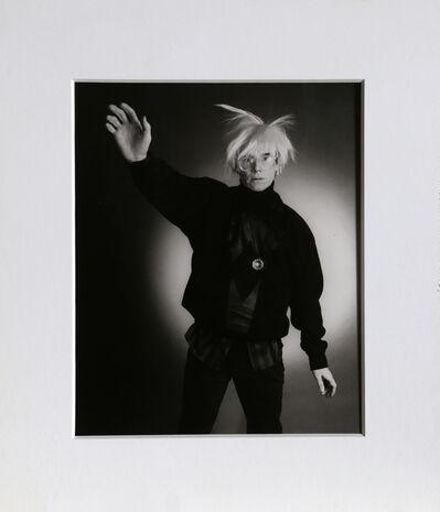 Christopher Makos, 'Modeling (Warhol: Ten Images)', 1978 (Printed in 1989)