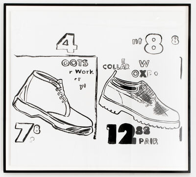 Andy Warhol, 'Work Boots', 1985-86