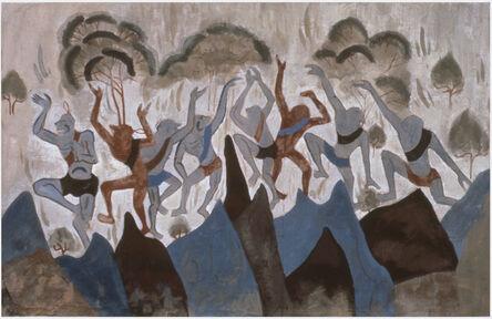 Zhang Hongtu, 'Dunhuang Study No. 7', 1981