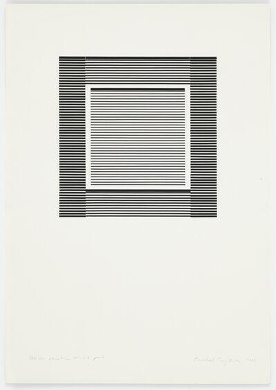 Michael Craig-Martin, 'Black Venetian Blind Piece', 1988