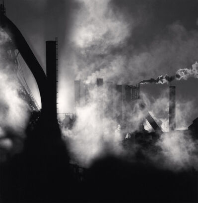 Michael Kenna, 'The Rouge, Study 100, Dearborn, Michigan, USA.', 1995