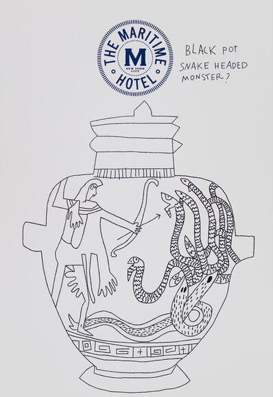 Jonas Wood, 'Maritime NPP #2', 2017