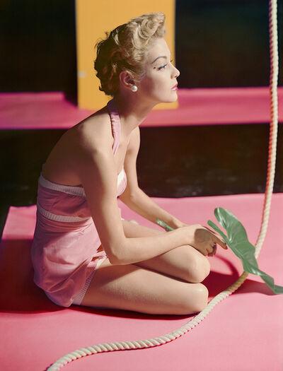 Horst P. Horst, 'Jean Patchett, Bathing Suit by Brigance', 1951