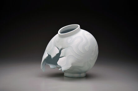 Steven Young Lee, 'Moon Jar with Octopi', 2014
