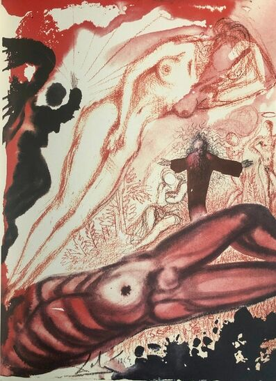 Salvador Dalí, 'Woman From the Side of Man, 'Mulier e Latere Viri', Biblia Sacra', 1967