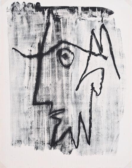 Pablo Picasso, 'Profil d'Homme Barbu', 1963