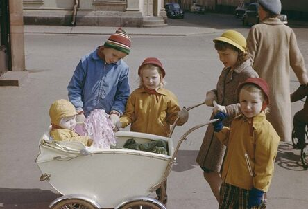 CLAIRE AHO, 'Children', Early 1950´s
