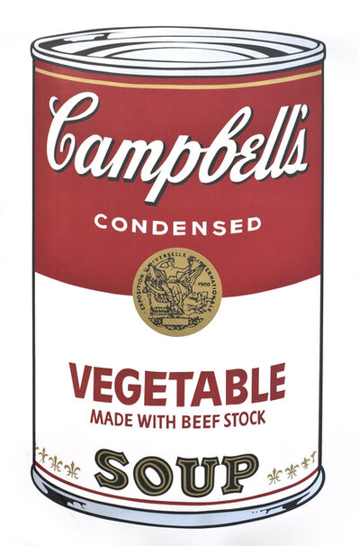 Andy Warhol, ' Campbell's Soup I (Vegetable)', 1968