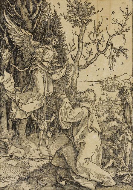 Albrecht Dürer, 'Joachim and the Angel, from The Life of the Virgin (Bartsch 78; Meder, Hollstein 190; Schoch Mende Scherbaum 168)', c. 1504