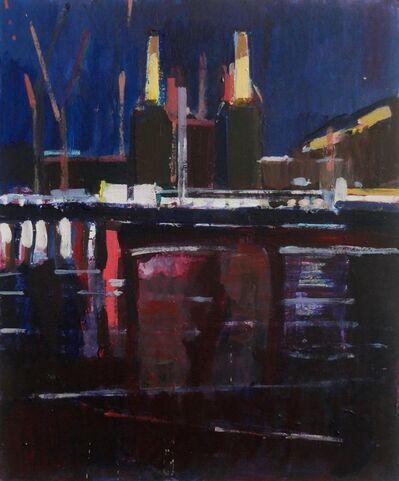 Daniel Preece, 'Powerstation At Night', 2018