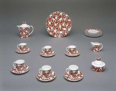 Keith Haring, 'Breakfast Set', 1991