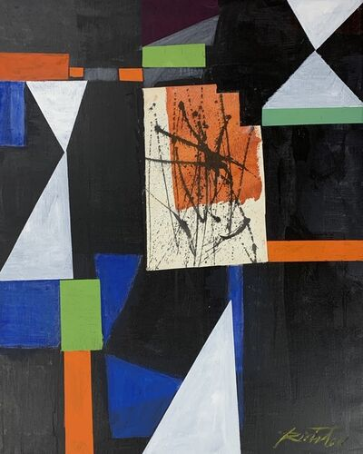 Mischa Richter, 'Abstract with Splat', late 20th c.