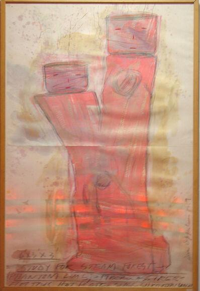 Dennis Oppenheim, 'Study for Steam Forest', 1989
