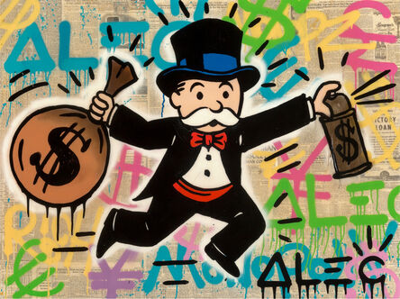 Alec Monopoly, 'MONOPOLY MONEY TAG', ca. 2015